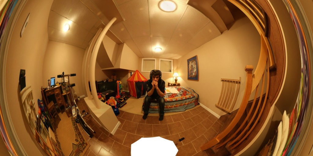 Projection fisheye